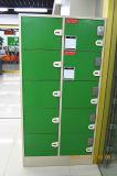 Kast van de Opslag van de Zak van de Klanten van het Metaal van de Kast van de supermarkt de Elektronische