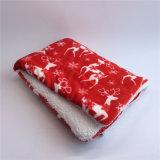 Сгустите кровать собаки хода щенка рождества Blanket