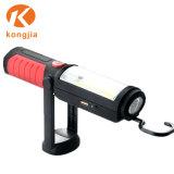 Indicatore luminoso ricaricabile magnetico d'attaccatura del lavoro della torcia elettrica della PANNOCCHIA della lampada portatile della torcia