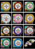 クラブカジノのポーカー用のチップはチップをカスタム設計する