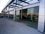 Double vitrage aluminium empilage automatique des portes coulissantes en verre/portes et fenêtres normes australien et néo-zélandais