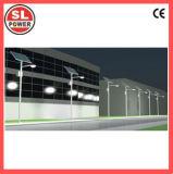 60W étanches IP65 Bras double panneau solaire Rue lumière à LED