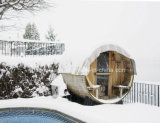 Een openluchtSauna van het Vat van de Sauna van de Ceder van de Rang voor Huis
