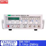 Générateur de fonction 2MHz 0,1 Hz -2MHz Générateur de fonctions à haute fréquence avec compteur de fréquence SM-1641