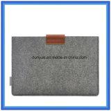 """직업 Apple MacBook 공기, 직업적인 망막 13.3를 위한 마우스 부대를 가진 선전용 모직 펠트 휴대용 퍼스널 컴퓨터 서류 가방 또는 휴대용 퍼스널 컴퓨터 소매 """" (모직 내용은 70%는이다)"""