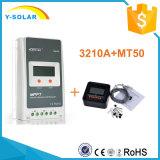 Ce y rhos solares Tr3210A del regulador IP30 de 12V/24V 30A MPPT