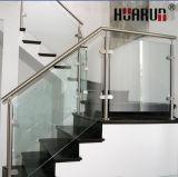 층계 (HR-1371B)를 위한 원형 스테인리스 손잡이지주 디자인