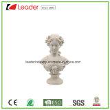 Met de hand geschilderde Polyresin Dame Figurine voor de Decoratie van het Huis en van de Tuin