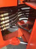 Ladevorrichtung des Rad-Oj-16 mit dem Rasenmäher verwendet, wenn Bereich landschaftlich verschönert wird