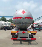Reboque de tanque de gás liquefeito de 60 Cbm M3 Camião de transporte de GLP de 60000 Litros