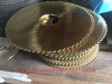 China hizo lámina de la máquina del cortador del carburo de tungsteno la lámina de cortador del disco del cuchillo de papel