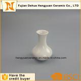 Vaso branco da porcelana de Samll para a decoração Home