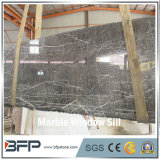 M104 Polished di qualità superiore ha appeso il marmo grigio per il davanzale della finestra e le mattonelle di pavimento