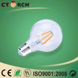 Ampoule de LED à filament E27 G80 6W