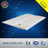 白いカラーフラットパネルPVC天井のタイル