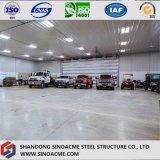 가벼운 강철 구조물 차량 헛간 건축