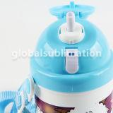 Botella de la bebida del cabrito con el espacio en blanco de Polyster de la sublimación