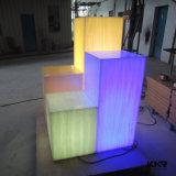 Decoration Material Panneau translucide en résine acrylique Surface solide (171120)