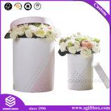 로즈 방수 둥근 꽃 서류상 포장 선물 상자