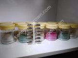 Poudre chrome brillant miroir Silver Pigment pour vernis à ongles