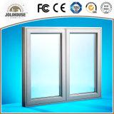 Preiswertes kundenspezifisches Haus-örtlich festgelegtes Aluminiumflügelfenster-Fenster