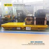 Bxc-10t het nieuwe Op zwaar werk berekende Platform van het Staal van het Spoor dreef het Karretje van de Aandrijving aan