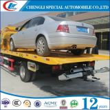 Hot Sale 4 * 2 Chargement Cpacity 4t Flatbed Towing Truck