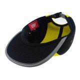 Причинный желтый шлем крышки Snapback крышки туриста шлема Ployester высший