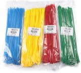Cravate en nylon, attache à câble, attache à câble en nylon, cravate en plastique, cravate, attache métallique,