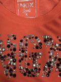 Пуловер 2 цветов для женщин с заклепками и краской одежды