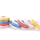 Polyester-preiswerte kundenspezifische zweiseitige Satin-Farbbänder für Geschenk-Verpackung