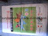 Heiße verkaufende Plastikpolypropylen gesponnene Beutel für Reis, Mehl, Düngemittel