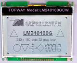 접촉 스크린 이 LCD 디스플레이 공급자 (LM240160G)와 가진 240X160 이 도표 LCD 디스플레이