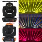 iluminación principal móvil de la etapa ligera de la viga de 7r Sharpy 230W