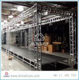 Fascio di alluminio di illuminazione della fase del fascio della casella quadrata