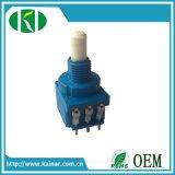 Potenziometro sigillato B10k rotativo del Jiangsu 17mm con l'interruttore per il regolatore della luminosità