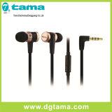 Micが付いている3.5mm 4ポーランド人の耳のステレオのハイファイ低音のイヤホーン