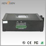 Interruptor llano industrial portuario de la red de Ethernet de 2 gigabites