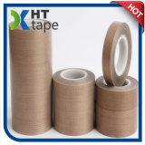 Cinta a prueba de calor del paño de cristal de la cinta del Teflon de la adherencia fuerte