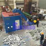Machine de pressage à brique à copeaux d'aluminium à grande sortie