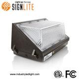 Utilização exterior 120W Wallpack LED de luz com a FCC ETL