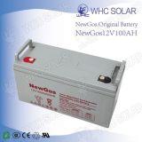 12V 100ahのUPSの太陽系のための深いサイクルAGM電池