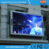 FCC와 가진 RGB P10 옥외 조정 광고 LED 게시판