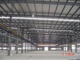 Construção de aço pintada elegante para o parque de estacionamento & o quadrado comercial