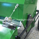 5.5HP motor of de de de de Aangedreven Towable Veger ATV/Quad/UTV/Tractor van Honda Motor/Reinigingsmachine van de Collector/van de Paddock/Collector van het Gras/Mest van het Paard van de Veger van de Paddock, Blad, Eikel