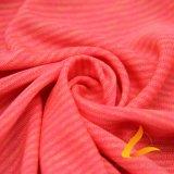 운동복 적당 (LTT-YLZJT4#)를 위한 폴리에스테 스판덱스 Lycra 뜨개질을 한 탄력 있는 직물