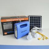 Sistema de iluminación solar con la luz del LED