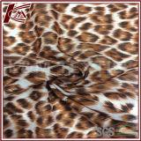 Leopard Plat Screen Print 100% de tecido de algodão
