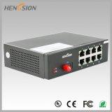 8 1 d'Ethernet d'accès de Fx commutateurs réseau de port électrique et