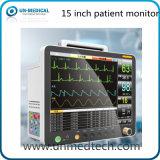 Monitor paciente de 15 parámetros de la pulgada seises con Etco2
